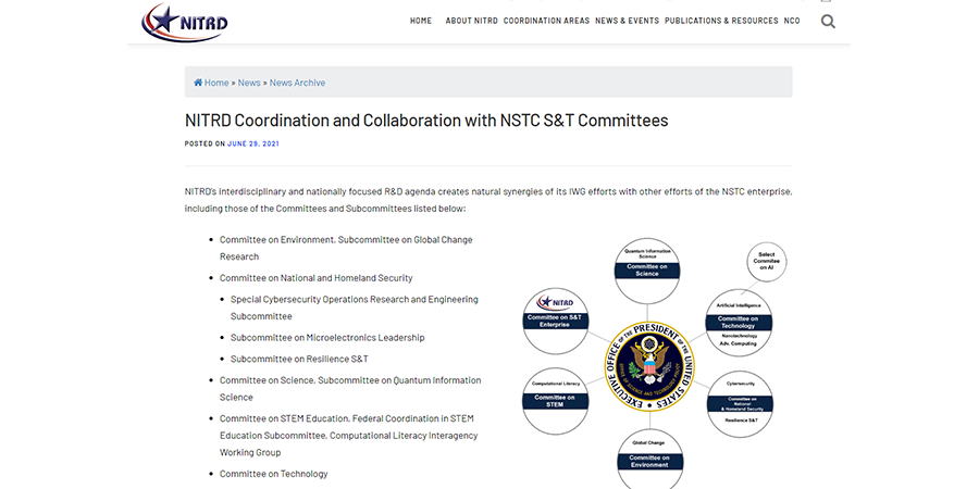 NITRD-NSTC-Collaborations